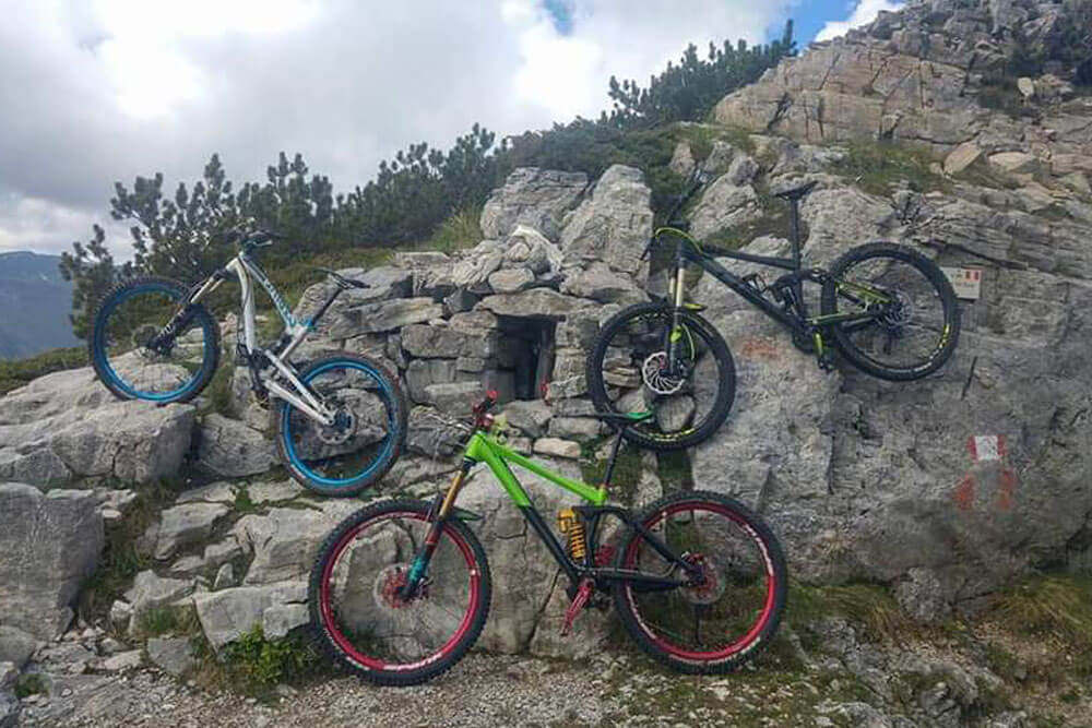 Enduro bike Vinadio